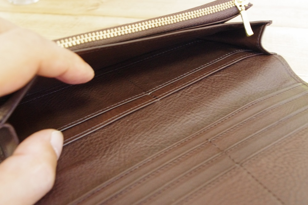 内装 札入れ カードポケット